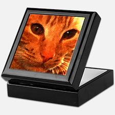 'Clyde the Ginger Cat' Keepsake Box