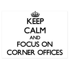 Keep Calm by focusing on Corner Office Invitations