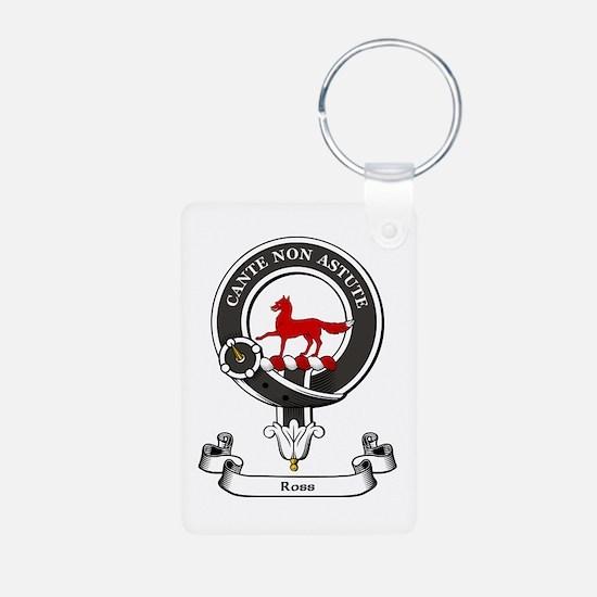 Badge-Ross [Kindace] Aluminum Photo Keychain