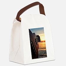 Ukulele Canvas Lunch Bag