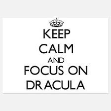 Keep Calm by focusing on Dracula Invitations