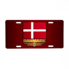 Danneborg Aluminum License Plate