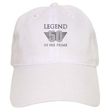 50th Birthday Legend Baseball Cap