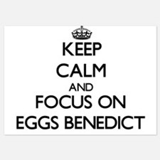 Keep Calm by focusing on Eggs Benedict Invitations