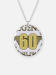 60th Birthday Legend Necklace