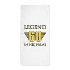 60th Birthday Legend Beach Towel