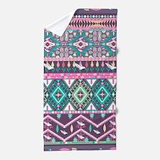 Native Pattern Beach Towel