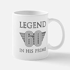60th Birthday Legend Mugs