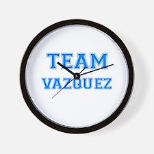 TEAM VAZQUEZ Wall Clock