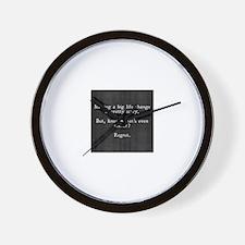 Inspirational quotes Wall Clock