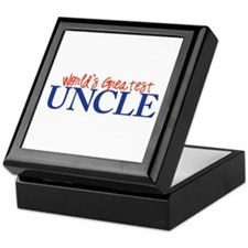 World's Greatest Uncle II Keepsake Box