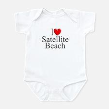 """I Love Satellite Beach"" Infant Bodysuit"