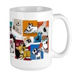 lubly bully original designs Large Mug