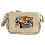 lubly bully original designs Messenger Bag