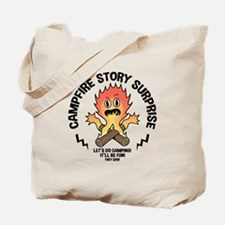 Campfire Surprise Tote Bag