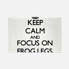 Keep Calm by focusing on Frog Legs Magnets