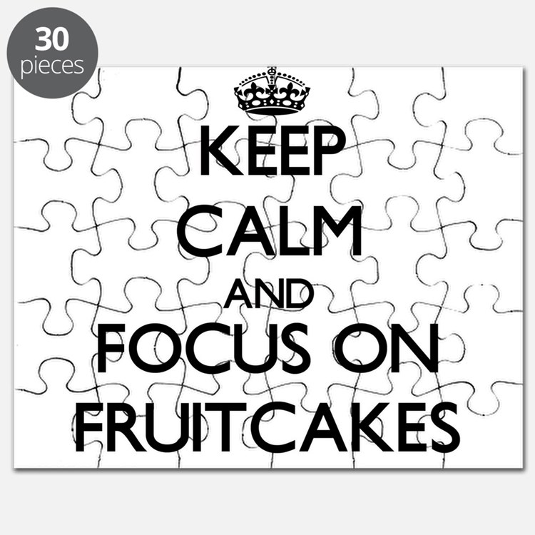 Keep Calm by focusing on Fruitcakes Puzzle
