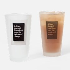 Unique Words and quotes Drinking Glass