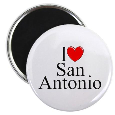 """I Love San Antonio"" Magnet"