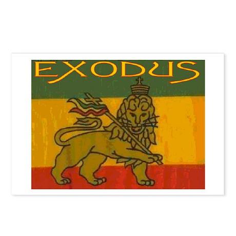 EXODUS Postcards (Package of 8)
