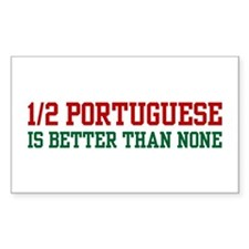 Half Portuguese Rectangle Decal