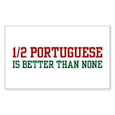 Half Portuguese Rectangle Decal