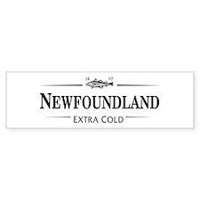 Newfoundland: Extra Cold Bumper Bumper Sticker