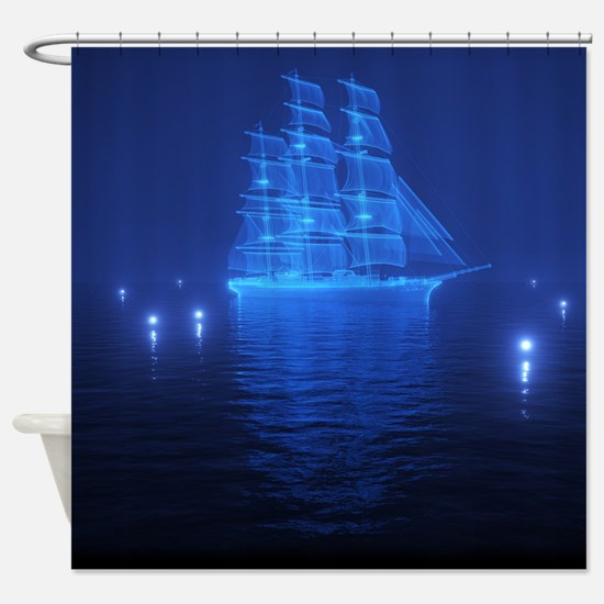 The Flying Dutchman Shower Curtain