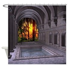 Ancient Spa Shower Curtain