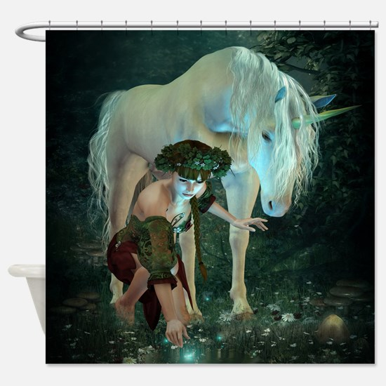 Fairytale Magic Shower Curtain