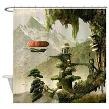 Giant Willow Fantasy Shower Curtain