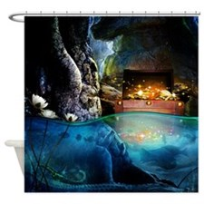 Treasure Cave Shower Curtain