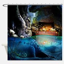 Treasure Cave Shower Curtain
