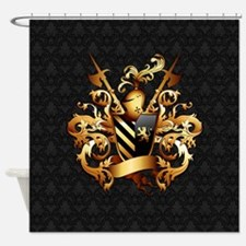 Medieval Coat of Arms Shower Curtain