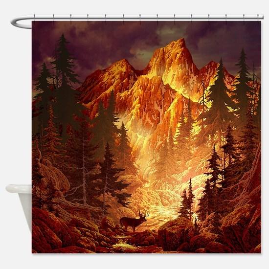 Deer Valley Shower Curtain