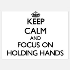 Keep Calm by focusing on Holding Hands Invitations
