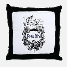 FREE BIRD Throw Pillow