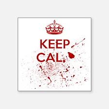 Keep Calm Blood Sticker