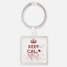 Keep Calm Blood Keychains