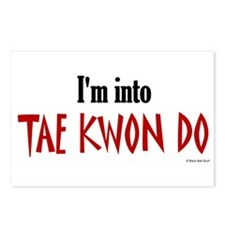 I'm Into Tae Kwon Do Postcards (Package of 8)
