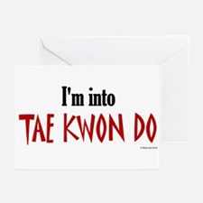 I'm Into Tae Kwon Do Greeting Cards (Pk of 10)