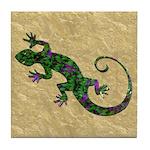Ivy Green Gecko Tile Coaster