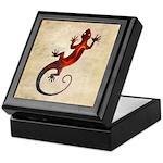 Fire Red Gecko Keepsake Box