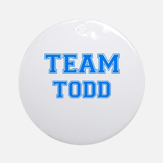TEAM TODD Ornament (Round)