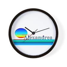 Alexandrea Wall Clock