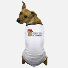 Pirate In Training Dog T-Shirt