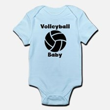 Volleyball Baby Body Suit