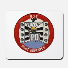 USS POINT DEFIANCE Mousepad