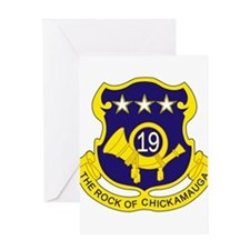 19th Infantry Regiment Greeting Cards