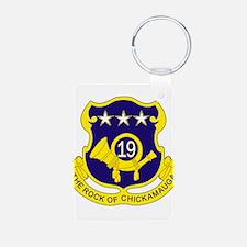 19th Infantry Regiment Keychains